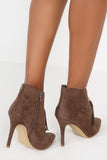 Eve Khaki Tassel Shoe Boot
