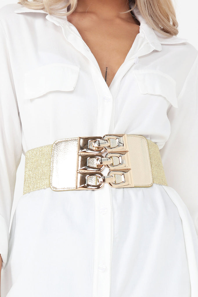 Faith Gold Statement Waist Belt