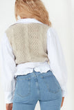 Faye Stone Knit Shirt Top