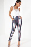 Giuliana Multi Stripe Trousers