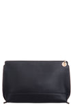 Gracie Black Gold Trim Clutch Bag (5498394565)
