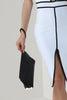 Gracie Black Gold Trim Clutch Bag
