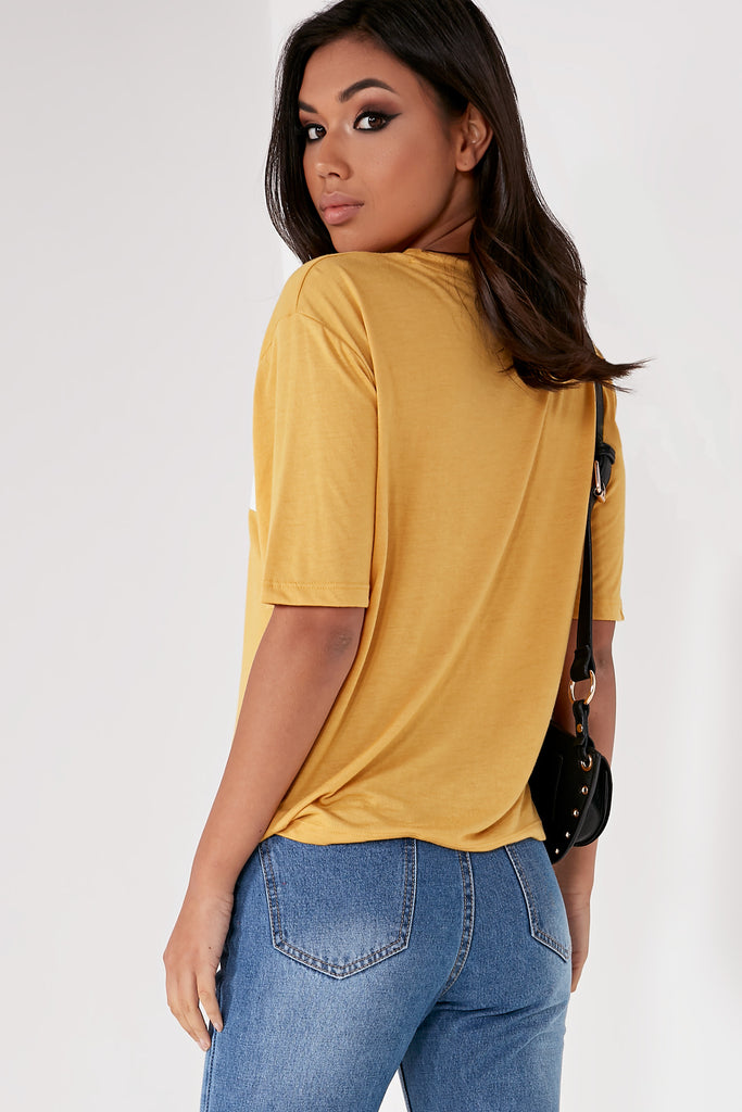 Gustie Mustard 'Enchante' T-Shirt