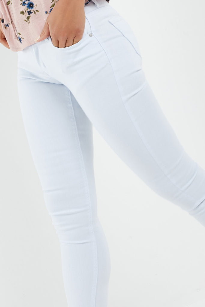 Havanna White Washed Slim Fit Jeans