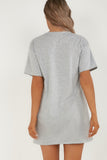 Helena Grey Baby Girl T-Shirt Dress