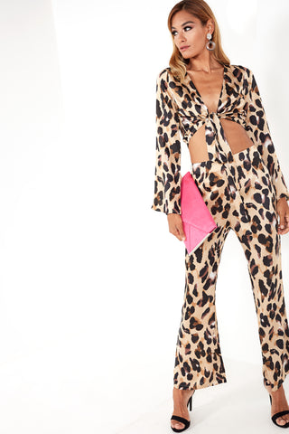 1ab3b13ad040 Hilly Leopard Print Trouser Co Ord