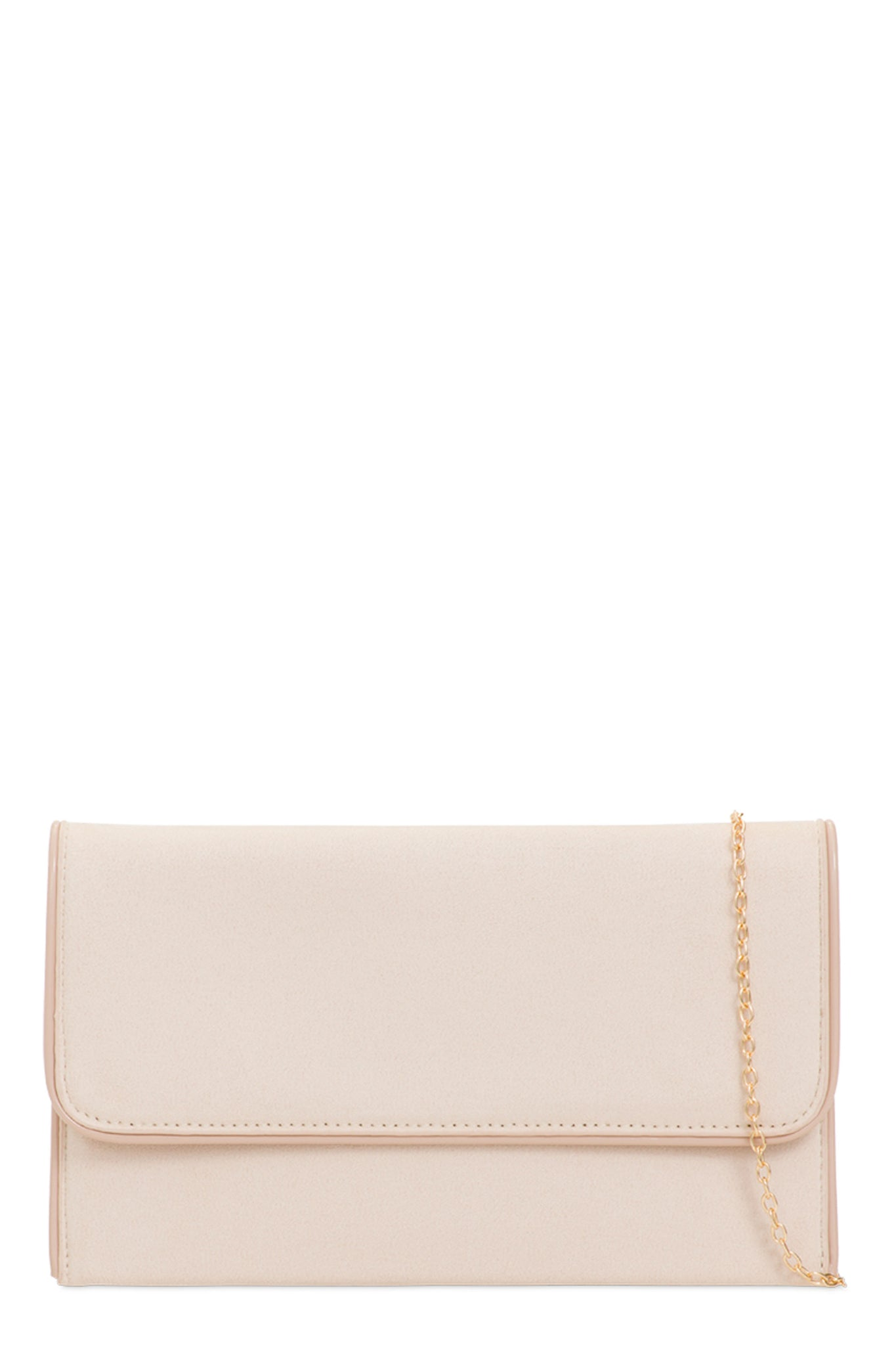 hot-selling clearance top-rated promo code Kate Nude Suedette Clutch Bag
