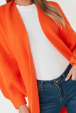 Lillian Neon Orange Knit Cardigan