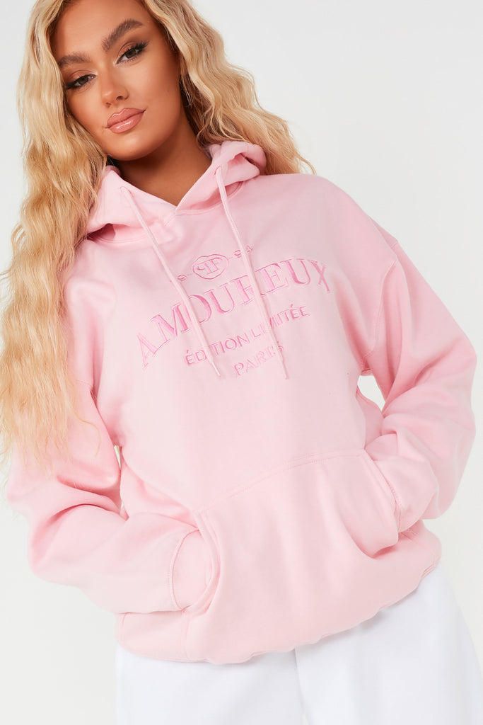 Lucy Pink Amoureux Hoodie
