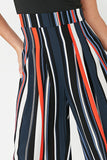 Lulu Multi Striped Bardot Jumpsuit