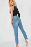Macha Blue Denim Mom Jeans
