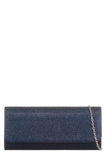 Megan Navy Glitter Structured Bag (1482440638530)