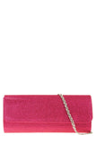 Megan Pink Glitter Structured Bag (1482442604610)