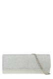 Megan Silver Glitter Structured Bag (1482436837442)