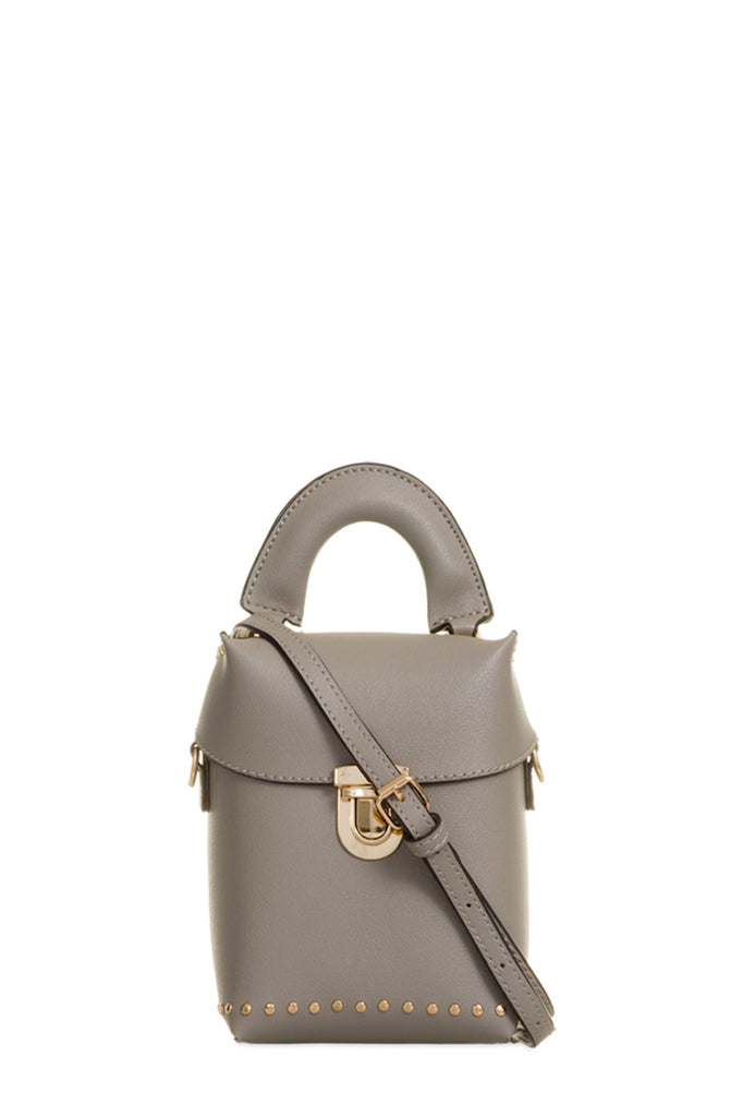 Milly Grey Leatherette Bag (88473403408)