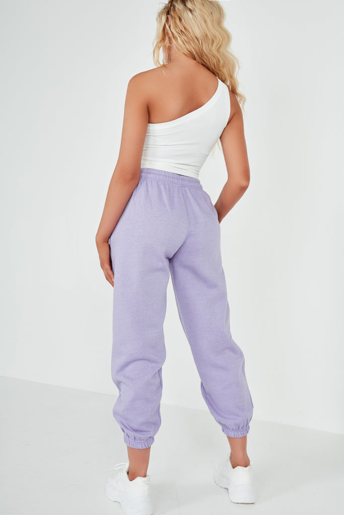 Olivia Lilac Over Sized Joggers