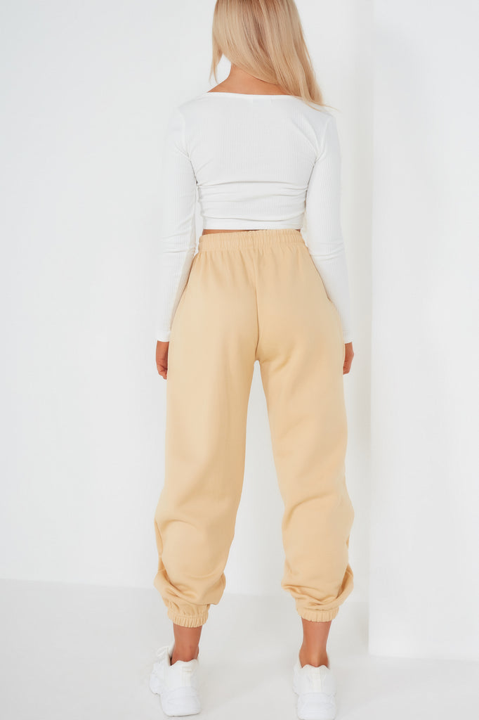 Olivia Sand Over Sized Joggers