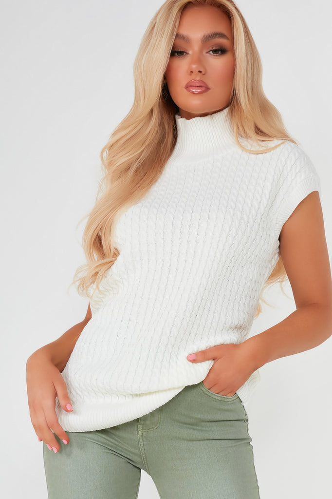 Oonagh Cream Knit Pullover