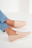 Pax Nude Quilted Loafers