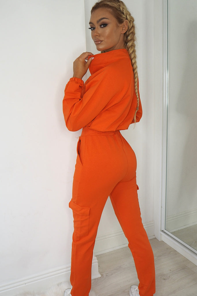 Sabrina Orange Utility Co Ord