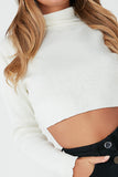 Tami Cream Knit Crop Jumper