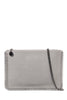 Tiger Grey Gunmetal Chain Trim Clutch Bag