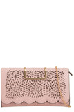 Toro Rose Leatherette Cut Out Clutch Bag (9563737616)