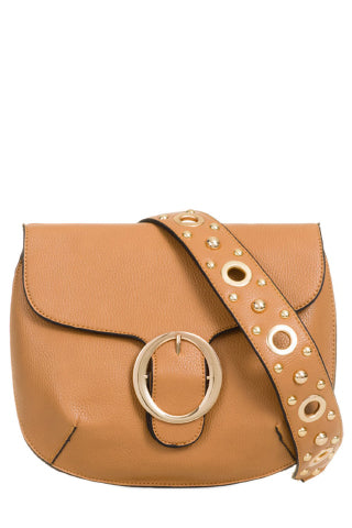 Uma Tan Satchel Bag (18776195088)