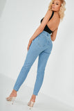 Valeria Blue Denim Mom Jeans