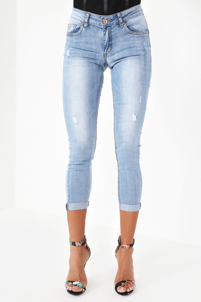 Vicy Light Blue Denim Jeans