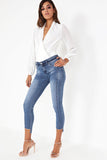 Wava Blue Denim Skinny Jeans
