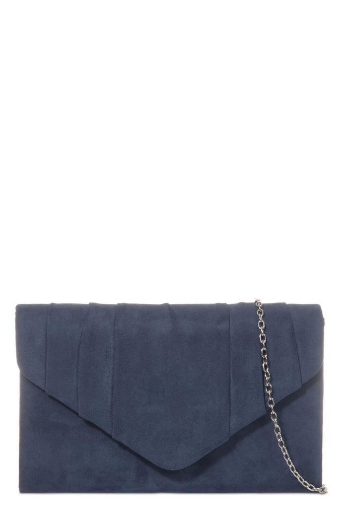 Wendy Navy Structured Envelope Bag