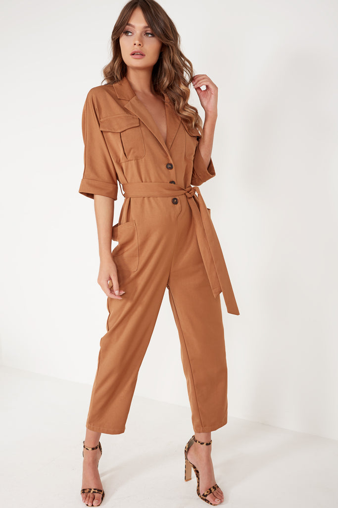 Zeb Brown Boiler Suit