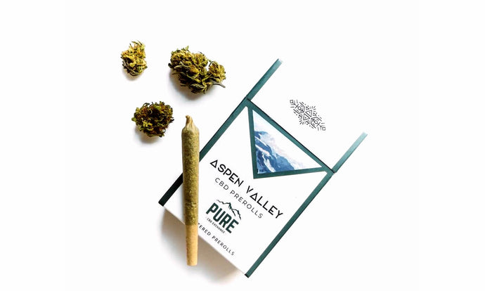 Aspen Valley Hemp CBD Bud Pre-Rolls- 12 pack, Lifter flavor