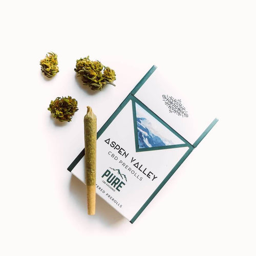 Aspen Valley Hemp CBD Bud Pre-Rolls - 12 pack, Sour Space Candy flavor