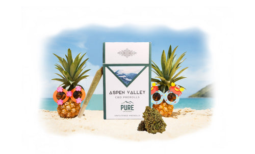 Aspen Valley Hemp CBD Bud Pre-Rolls- 12 pack, Hawaiian Haze