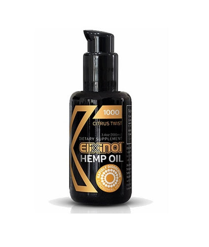 Elixinol CBD Liposome Hemp Extract Spray - 1000mg Citrus Twist