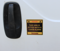 Vanmate Van Alarm + Sticker Bundle 30% Off Offer