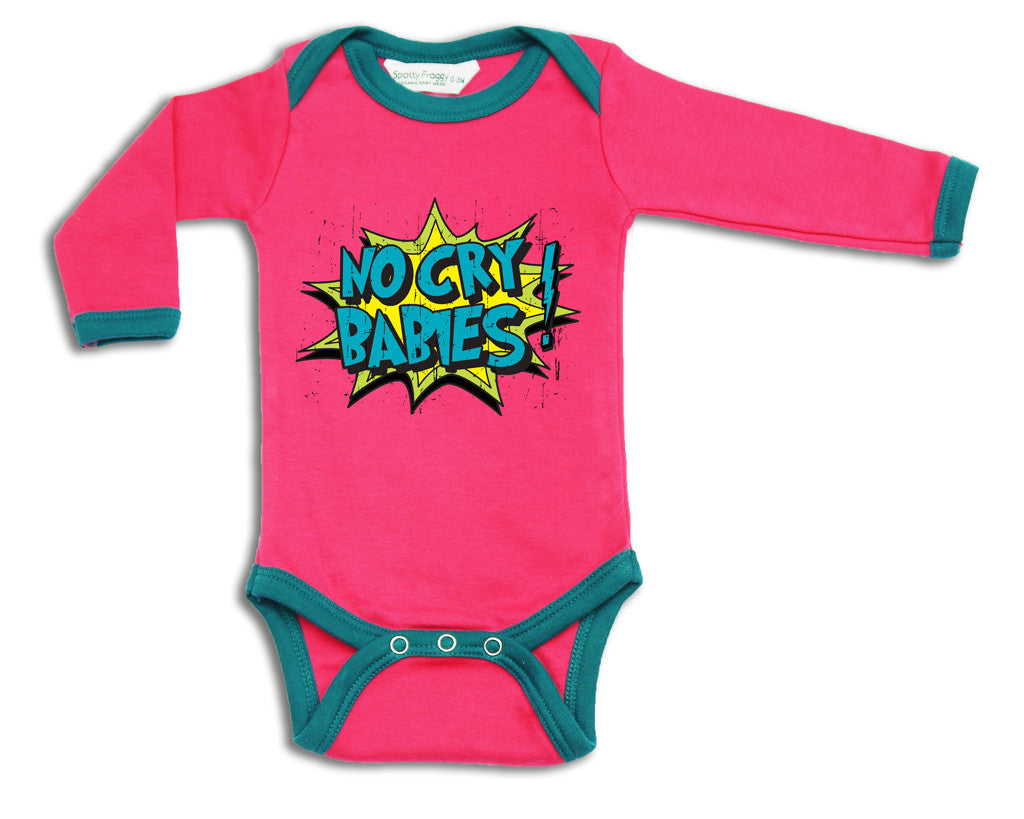 No Cry Babies Alternative Designer Fashion Baby Clothes And