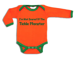 Tickle Monster organic designer babygrow