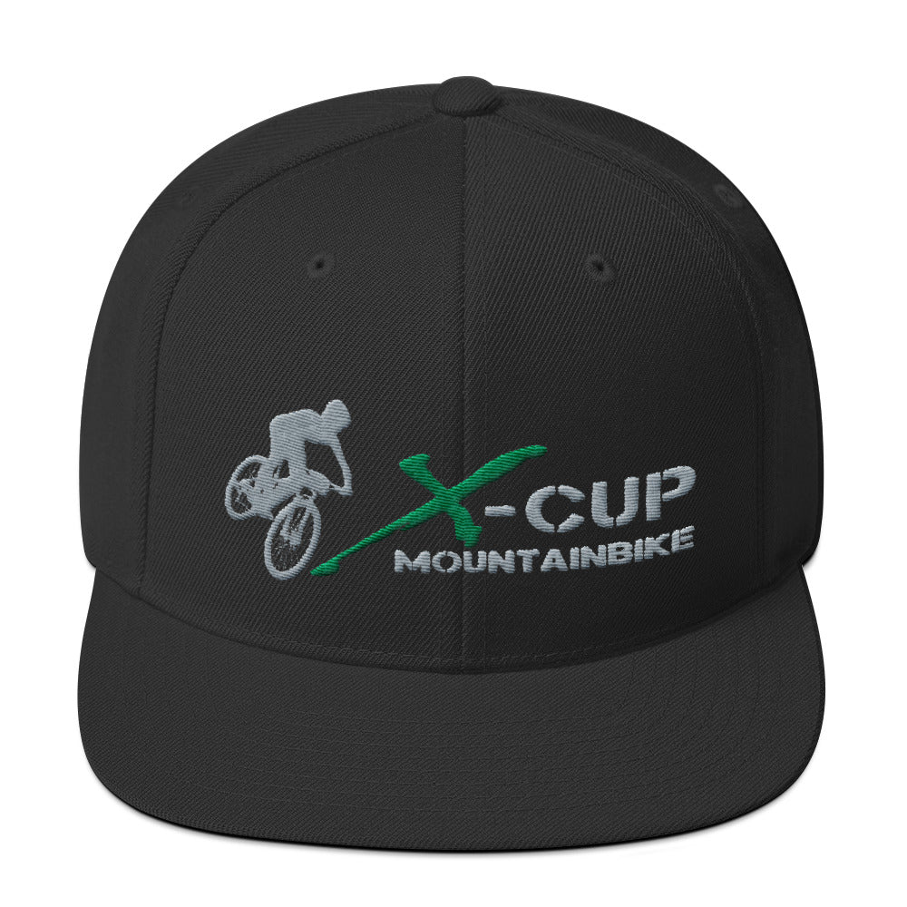 X-CUP Snapback cap black by CyclingT
