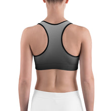 Load image into Gallery viewer, Black sky Sports bra by Cycling T