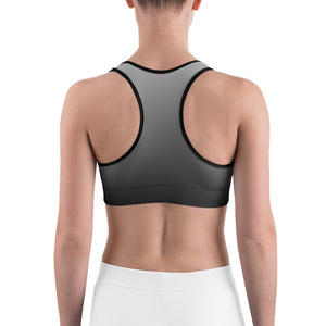 Black sky Sports bra by Cycling T