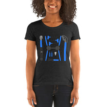 Load image into Gallery viewer, Ladies Bike Tools t-shirt by Cycling T