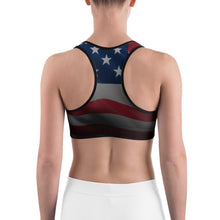 Load image into Gallery viewer, USA Sports bra by Cycling T