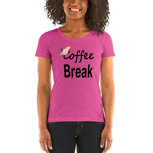 Coffee Cycling Ladies t-shirt by Cycling T