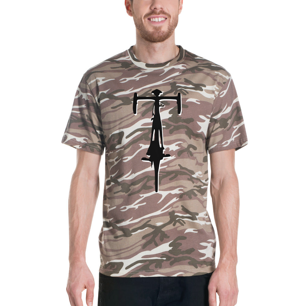 Cycling camouflage t-shirt by Cycling T