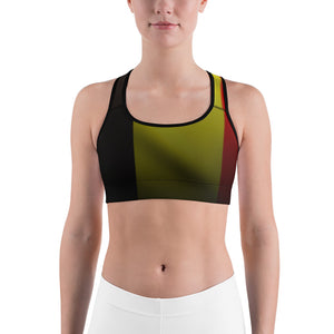 Belgium Sports bra by Cycling T