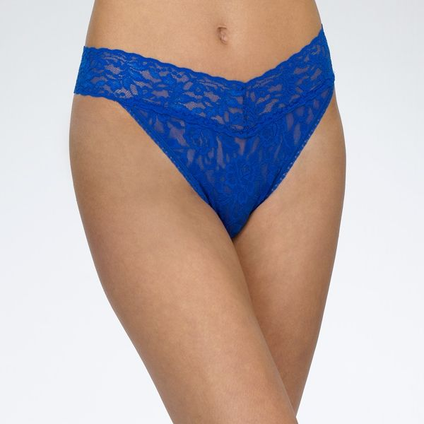 Hanky Panky - Signature Lace Original Fit Thong -Sapphire