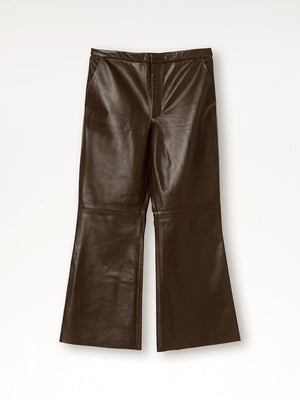 By Malene Birger - Vercano Pant Warm Brown